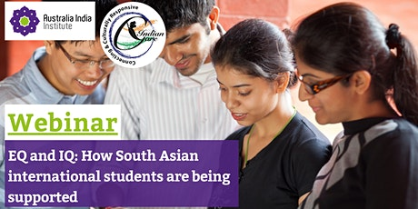 EQ and IQ: Are South Asian International Students being supported? tickets