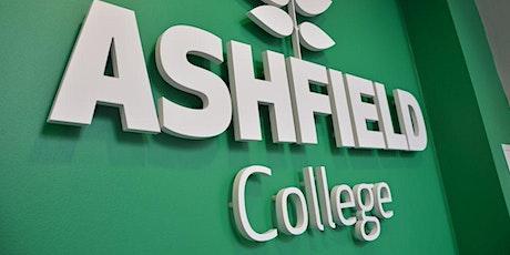 Ashfield College Live Online Junior & Leaving Cert Prep August 2021 tickets