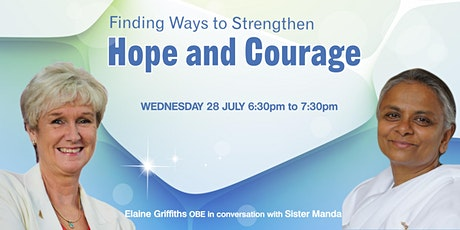 Free Online Conversation :  Finding Ways to Strengthen Hope and Courage tickets