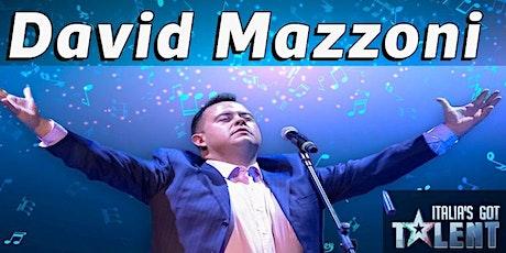Recital del tenore DAVID MAZZONI  (evento gratuito) biglietti