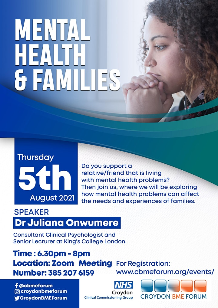 Mental Health and Families image