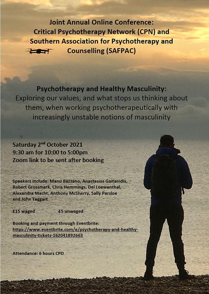 Psychotherapy and Healthy Masculinity image