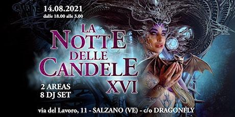 Notte delle Candele XVI biglietti
