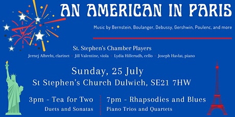 An American in Paris: Summer Chamber Music tickets