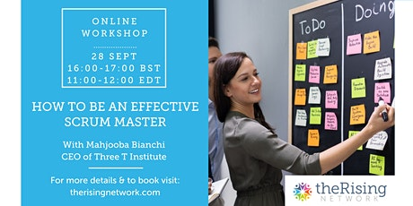 How To Be An Effective Scrum Master tickets