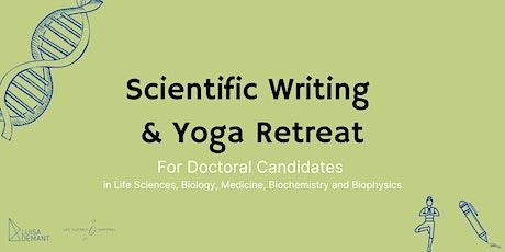 Scientific Writing & Yoga Retreat (online, 5 days) biglietti