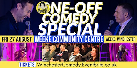 Super Funny Comedy Special at Weeke Community Centre, Winchester! tickets