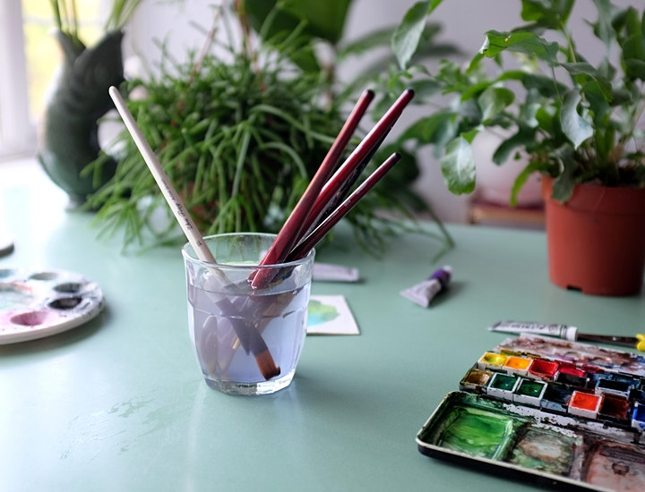 Watercolour Botanicals Workshop image
