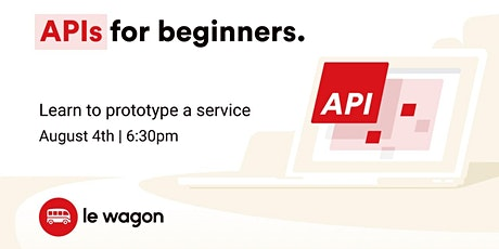 [Free workshop] API for Beginners tickets