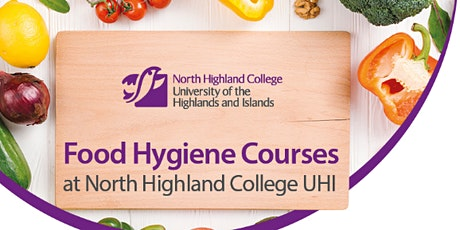 Elementary Food Hygiene - Dornoch  21st September tickets
