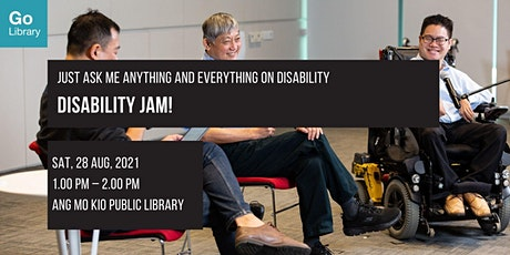 Just Ask Me Anything and Everything on Disability | Disability JAM! tickets