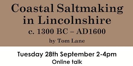 Coastal Saltmaking in Lincolnshire c. 1300 BC – AD1600 tickets