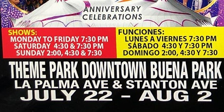 Circo Hermanos Caballero - Buena Park, CA tickets