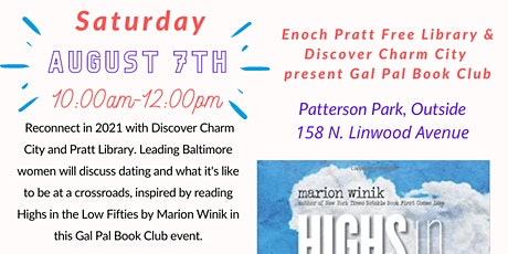 Gal Pal Book Club: Highs in the Low Fifties tickets