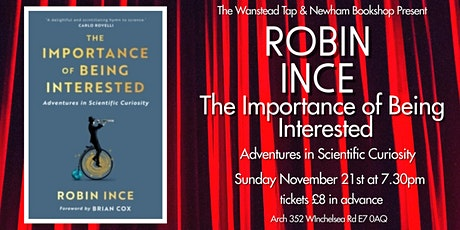 Robin Ince:The Importance of Being Interested tickets