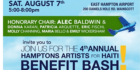 The Fourth Annual Hamptons Artists For Haiti Benefit tickets