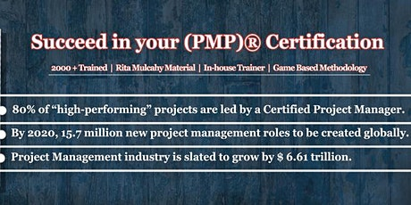 Project Management Professional (PMP)® Certification Training in Mumbai tickets