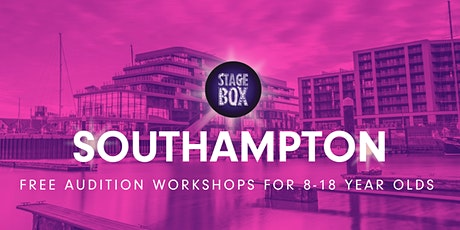 Free Stagebox Audition Workshop | SOUTHAMPTON tickets