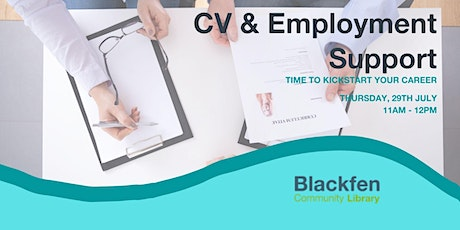CV Writing and Support tickets