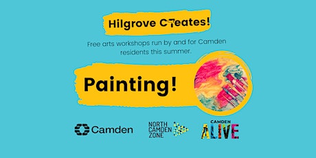 Hilgrove Creates Arts Workshops: Painting tickets