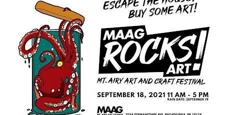 MAAG Rocks Art! Festival tickets
