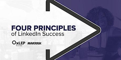 Four Principles of LinkedIn Success tickets
