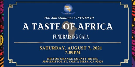 A Taste of Africa Fundraising Gala tickets
