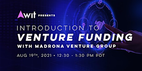 Introduction to Venture Funding with Madrona Venture Group tickets