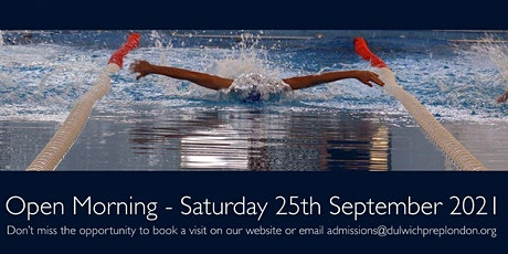 Open Morning at Dulwich Prep London tickets