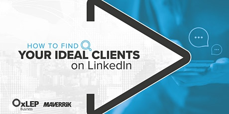 How to Find Your Ideal Clients on LinkedIn tickets