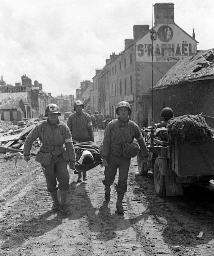 ON-LOCATION | VIRTUAL D-DAY | COUTANCES: The Liberation image
