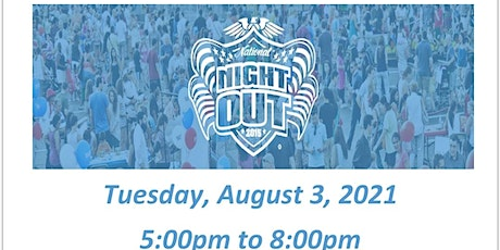 Fieldside National Night Out 2021 tickets