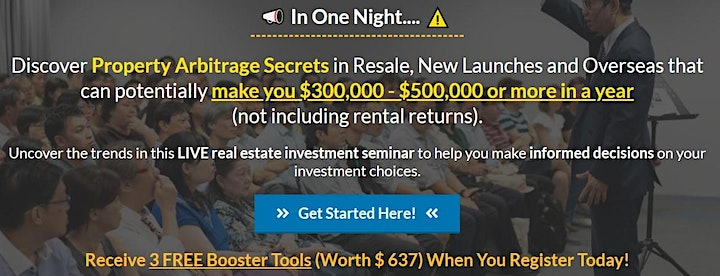 Discover Property Arbitrage Secrets In SG/Overseas Resale, New Launches image