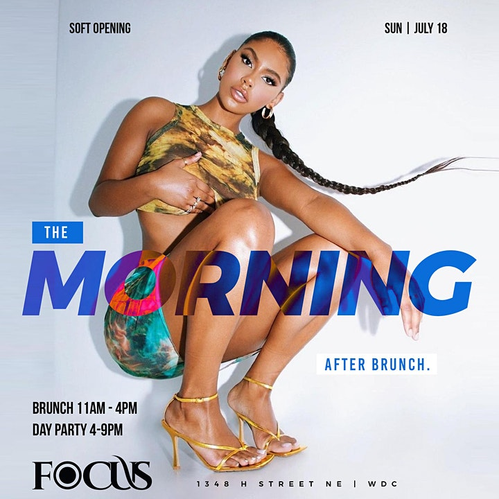 Focus Sundays The Morning After Brunch & Day Party image