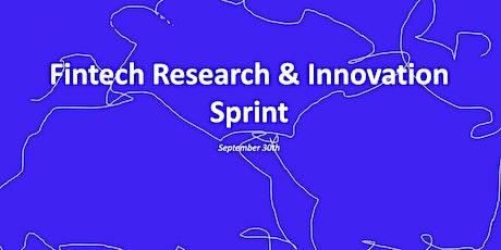 Fintech Research & Innovation Sprint tickets