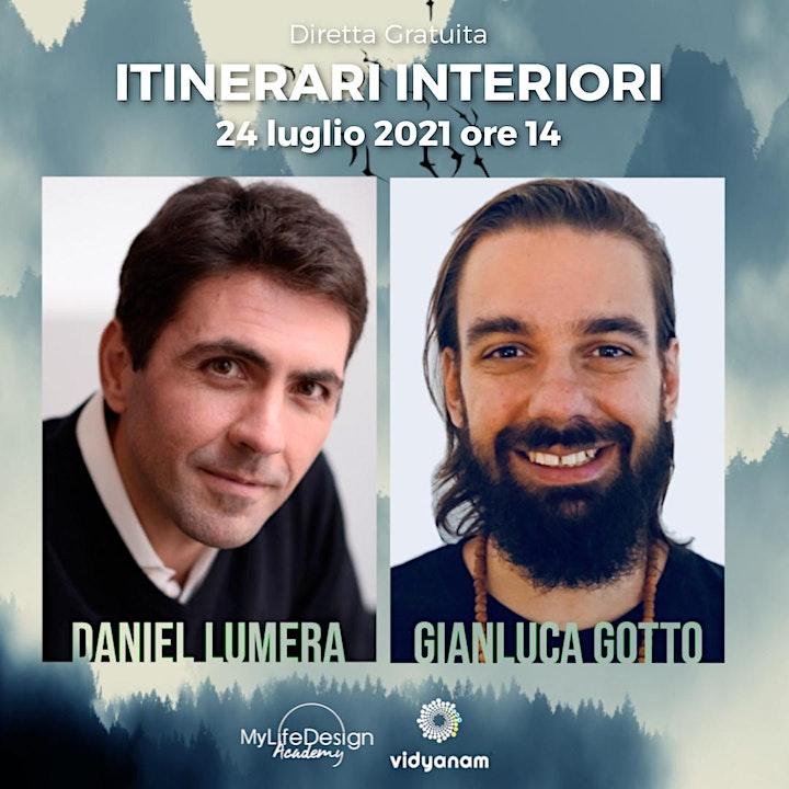 Immagine Itinerari Interiori | Daniel Lumera e Gianluca Gotto