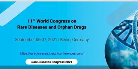 11th World Congress on  Rare Diseases and Orphan Drugs tickets