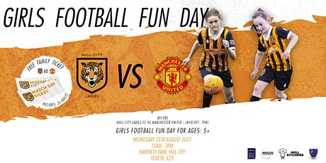 Hull City Ladies / Girls Football Day / Week 5 / Wed 25th August tickets
