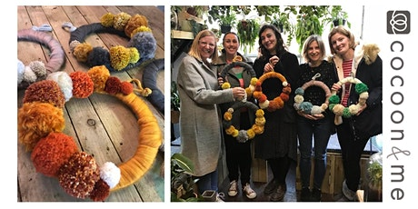Pom Pom Wreath Workshop - London tickets