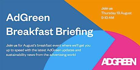 The AdGreen Breakfast Briefing - Calculator Focus tickets