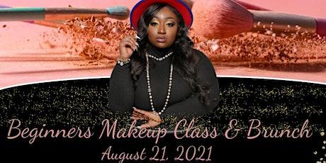 Shardé Christina Artistry Presents Beginners Makeup Class & Brunch tickets