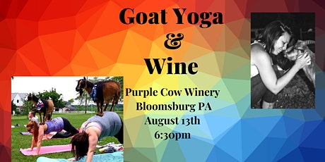 Goat Yoga & Wine at the Purple Cow tickets