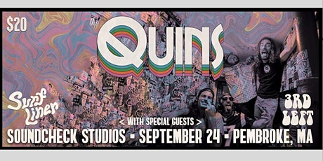 The Quins w/ 3rd Left & Surfliner tickets