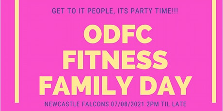 ODFC Fitness Family Day tickets
