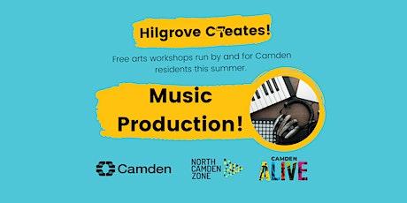 Hilgrove Creates Arts Workshops: Music Production tickets