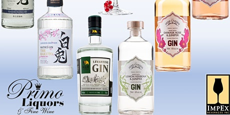 Gin and Tonic Tasting With Cigar Add On! tickets