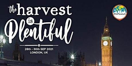 The Harvest is Plentiful tickets