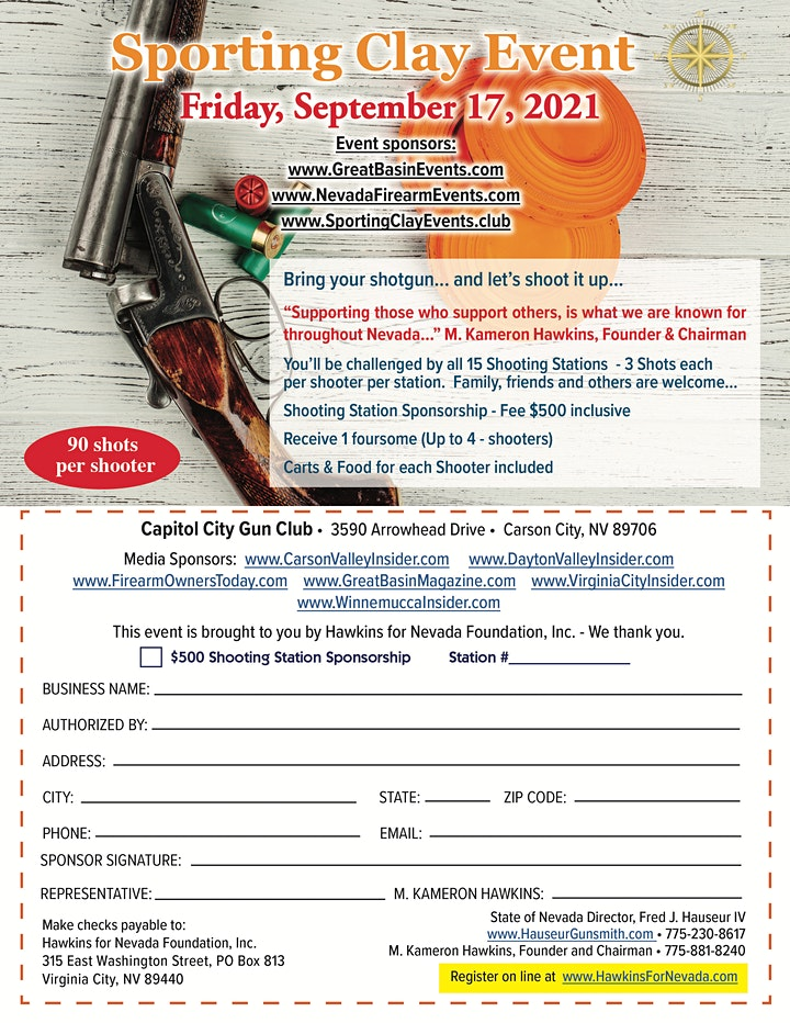 Sporting Clay Tournament Carson City, NV image