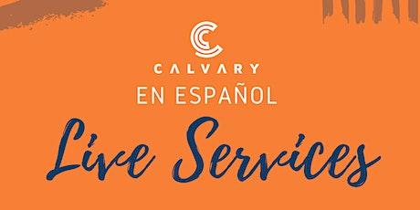 Calvary En Español LIVE Service - JULY 25 boletos