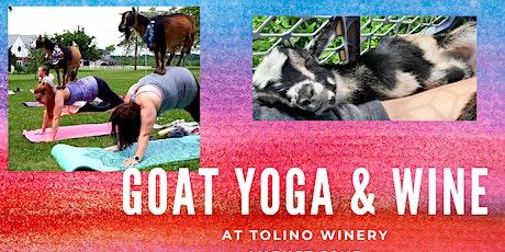 Goat Yoga & Wine Tolino Winery tickets